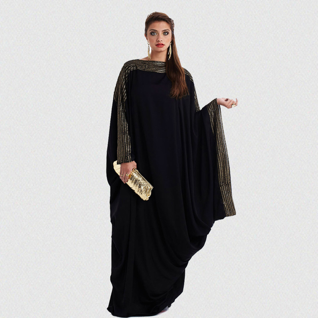plus size S~6XL quality new arab elegant loose abaya