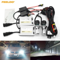 FEELDO 1Set Car Headlight AC 12V 55W H4 HID Xenon Bulb Hi Lo Beam Bi Xenon