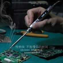 2016 НОВЫЙ TS100 Перо типа МИНИ-Программируемый Смарт-Регулируемый Цифровой ЖК Электрический паяльник Паяльная станция ARM MCU