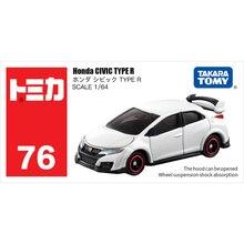 Takara Tomy Tomica 1: 64 Honda CIVIC TYPE R Metal Döküm Model Araç Oyuncak Araba Yeni #76