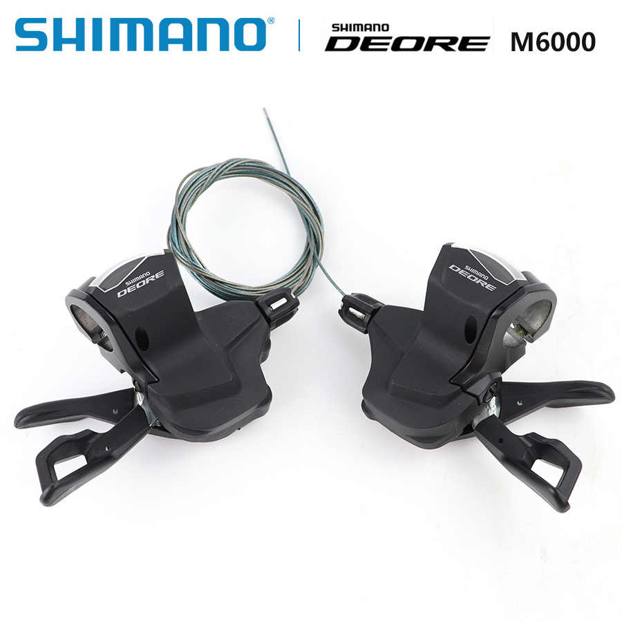 Shimano Deore SL-M6000 Shifting Lever Clamp 2/3x10 speed right and left MTB Shifting Levers 20/30 speed Mountain Bikes Parts