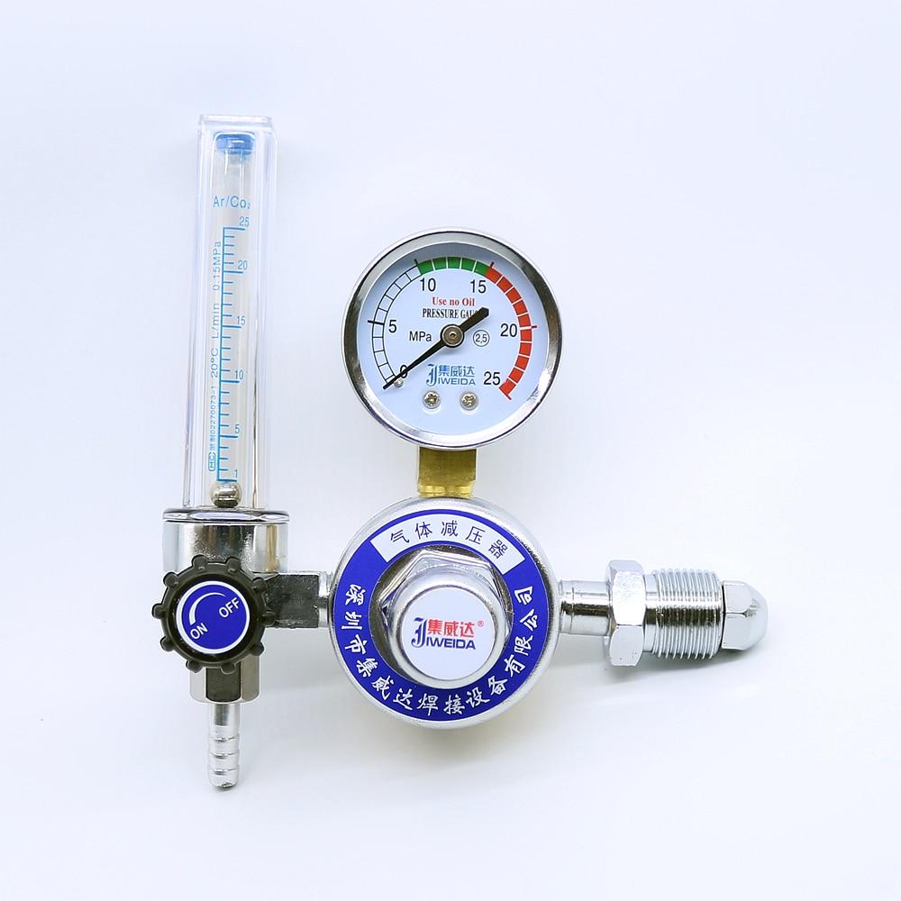 Metal Welding Gas Argon CO2 Pressure Flow Meter Regulator TIG Weld Gauge wx 5032l36 argon co2 pressure meter regulator flow meter regulator mig tig welding weld ac36v heating co2 shielded welding