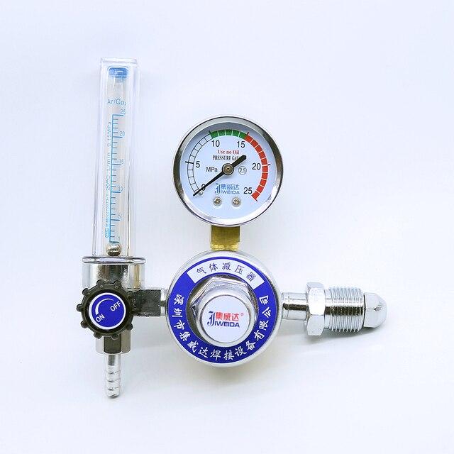 welding gas flow meter. tig welding argon regulator ar reduced pressure gas flowmeter gauge flow meter c
