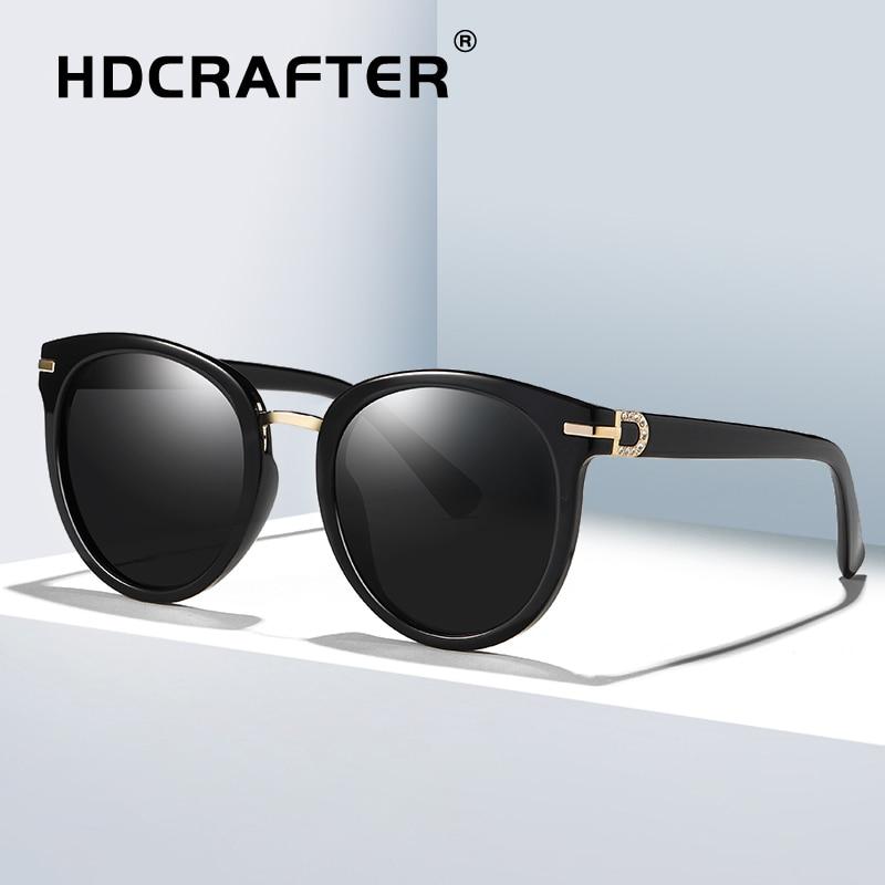 Cat Eye Sunglasses Polarized Women Fashion Brand Design Transparent Sun Glasses Ladies Retro Sunglasses lentes de sol mujer