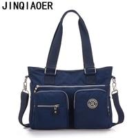 Jinqiao Er New Waterproof Nylon Laptop Bag Diagonal Fashion Handbags