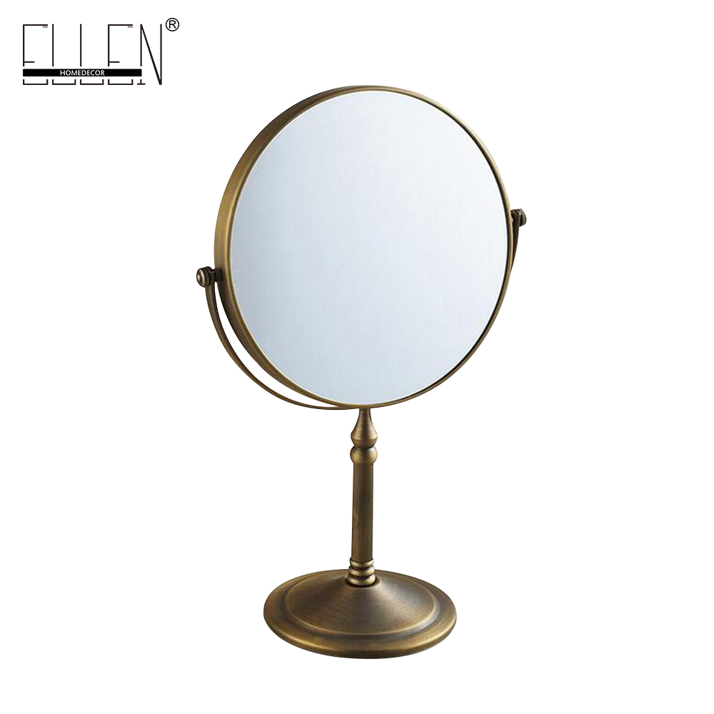 Bathroom Accessories Bath Mirrors Antique Bronze Deck Magnifier Bathroom Mirrors Bathroom Hardware 80290 China