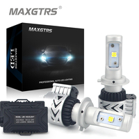 2x H7 72W 12000LM 6500K CREE XHP50 Car Led Headlight Daytime Running Lights Fog Driving Lamp