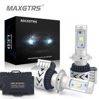 2x H7 72W 12000LM 6500K CREE XHP50 Car Led Headlight Daytime Running Lights Fog Driving Lamp
