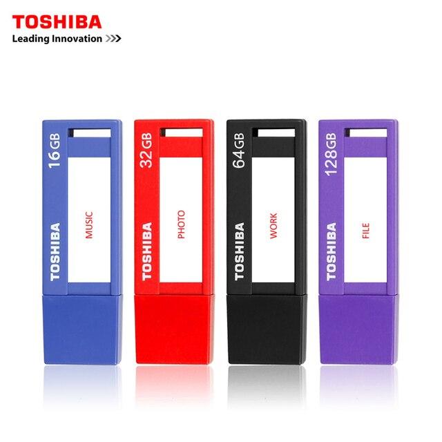 TOSHIBA USB flash drive 32GB Real Capacity V3DCH USB 3.0 64G USB flash drive quality Memory Stick 128G Pen Drive Free shipping