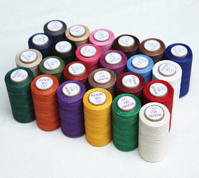 Top Qulity Multicolor 40D 40M Nylon Thread Handmade Leather Diy Amazing Best Thread For Machine Sewing Leather