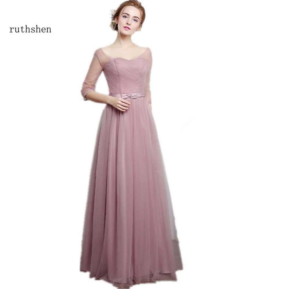 7e8f52fa50fed Detail Feedback Questions about ruthshen Bridesmaid Dresses Long ...