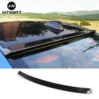 Car Spoiler Fit For BMW 3 Series E90 320i 318i 325i 330i M3 2005 2012 Carbon Fiber Rear Trunk Boot Wing Rear Lip Roof Spoiler