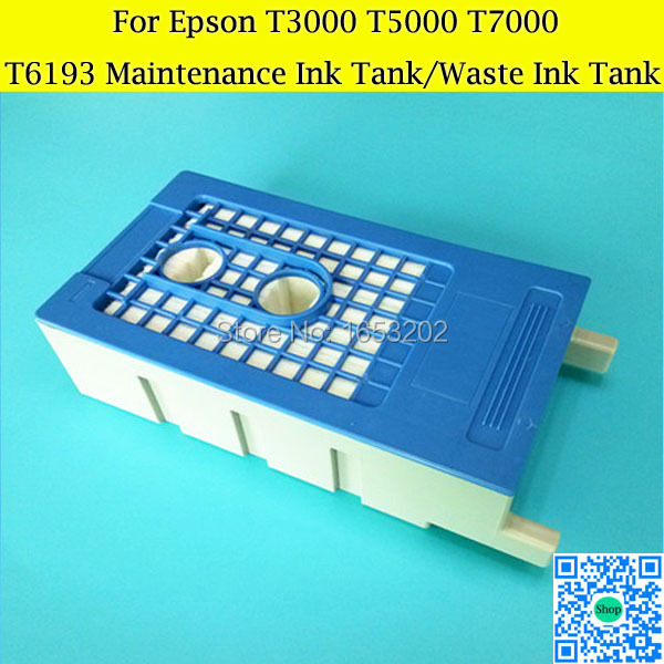 T6193 Maintenance Ink Tank For EPSON T3000 T5000 Printer With Maintenance Ink Box