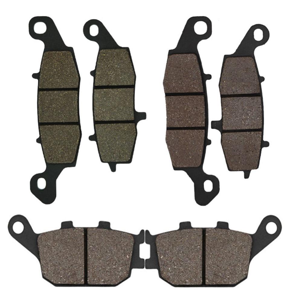 Cyleto Pastillas de freno delanteras y traseras para GSXR600 GSX-R600 2004 2005