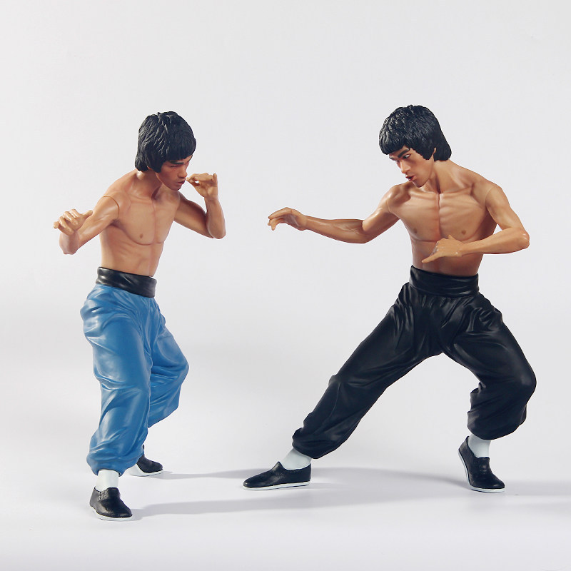 Bruce Lee Action Figure Decoration Chinese Kung Fu Jeet Kune Do shoulder and wrist joint is rotatable футболка wearcraft premium printio erik santana jeet kune do