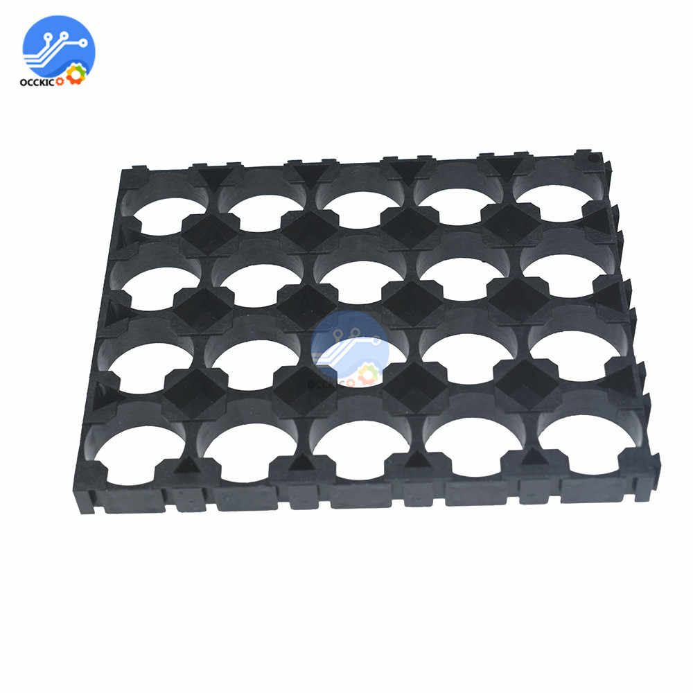 1Pcs 4x5 Mobiele Batterij Spacer 18650 Batterij Uitstraalt Shell Pack Plastic Warmte Houder Beugel 18650 Batterij Bank houder Doos