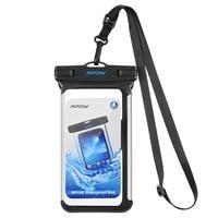 Mpow IPX8 водонепроницаемый чехол для телефона подводного плавания сумки чехол для телефона из чистого ПВХ Прозрачный ключ сумка для iPhone для ...