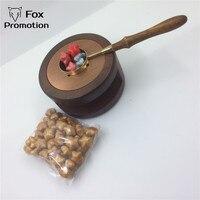 Vintage Melting Pot Brass Spoon Sealing Wax 50 Retro Seal Stamp Vintage Wax Stick Sellado Sax