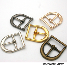 Wholesale Free shipping 25pcs/lot 20mm fashion metal buckle with pin belt buckle multiple colors high quality BK-011
