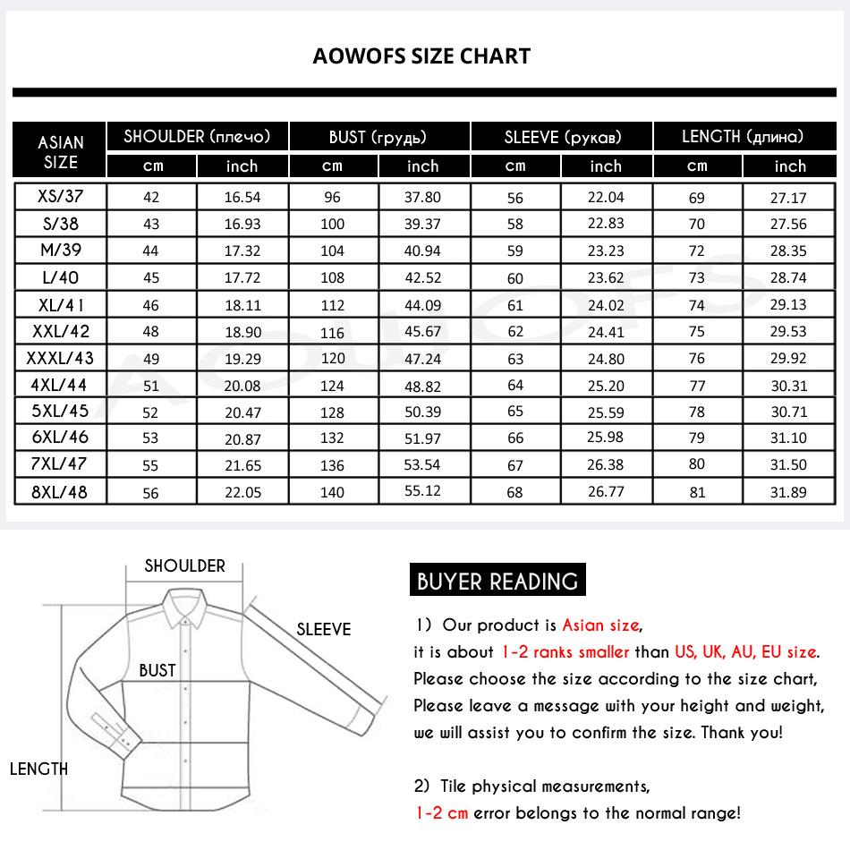 size chart D828 950