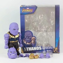 Marvel Avengers Infinity War Thanos Egg Attack Action EAA-059 PVC Action Figure Collectible Model Toy egg attack eaa 036 iron man 3 mark 42 mk xlii pvc action figure collectible model toy with led light