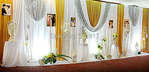 Hotsale 10x20 sparkle wedding ceremony backdrop, wedding backdrop ...