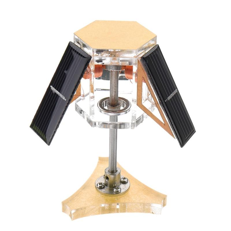 Solar Magnetic Levitation Mendocino Motor Education Model Steam Stirling Engine|Solar Power Meters| |  - title=