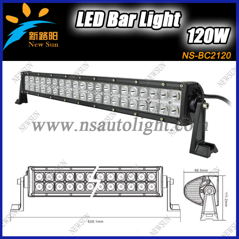 high Power Offroad 120 Watt LED Work Light 21.5 inch 120W Off Road LED Light Bar SUV Track Mine Work Lamp Spot Flood Combo Beam 100w driver for high power led 100 watt led light lamp ac 85v 265v