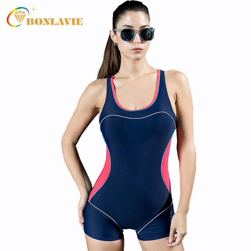 Professional Sports Swimwear Women 2017 One Piece Swimsuit Bodysuit Plus Size Beach Swimming Wear Bathing Suits Monokini 2017 new sexy one piece swimsuit strappy biquini high waist one piece swimwear women bodysuit plus size bathing suits monokinis