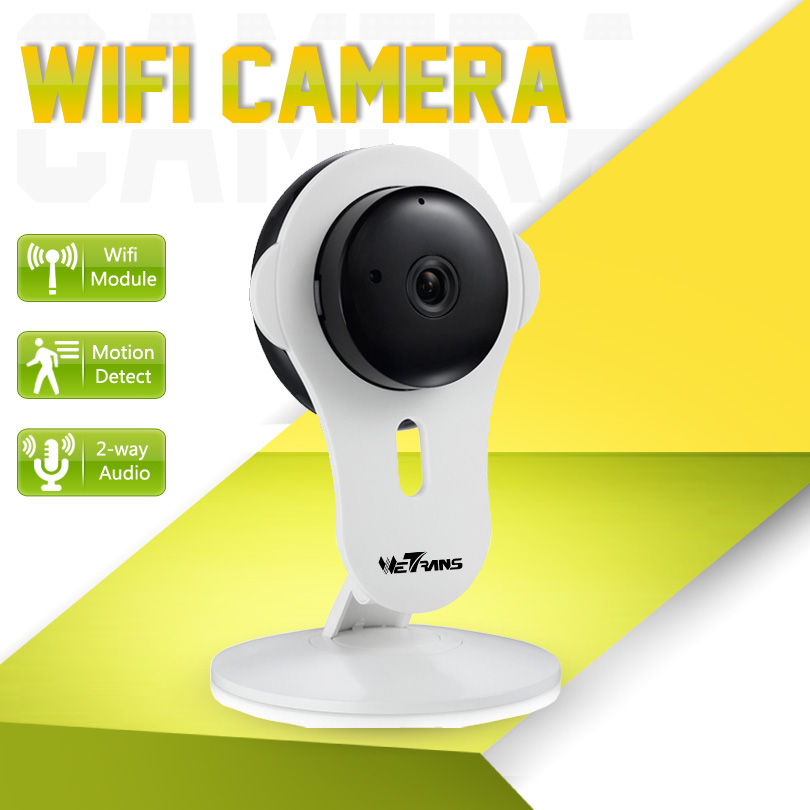 IP Camera Wifi Baby Monitor 720P HD 1.0Megapixel Two-way Voice Alarm Smart Phone P2P Wireless Camera Wifi Home Security