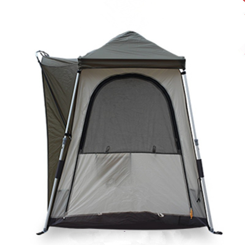 Wnnideo Outdoor Automatic Tent Single Double Person Wind Rain Resistant Fishing Camping Traveling Tents Gray hewolf 2persons 4seasons double layer anti big rain wind outdoor mountains camping tent couple hiking tent in good quality