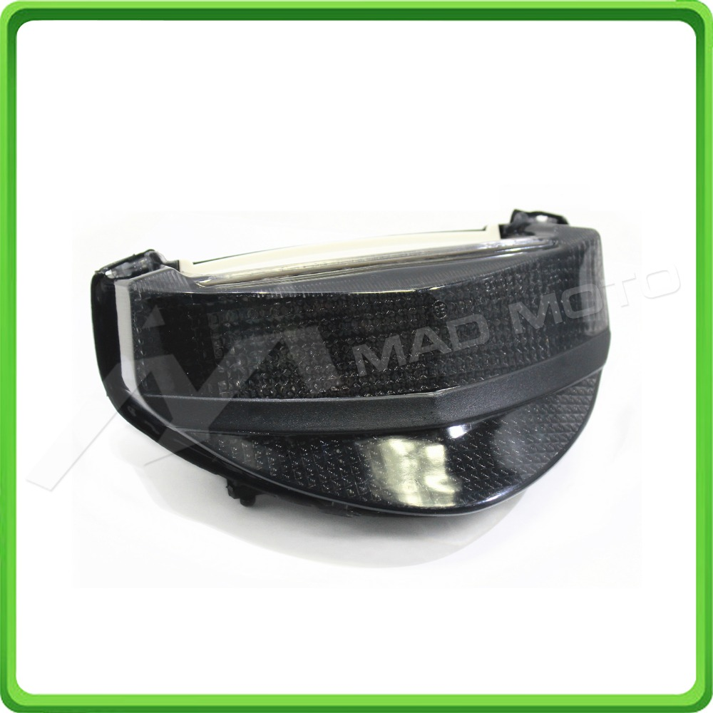 Motorcycle Led Rear Turn Signal Tail Stop Light Lamps
