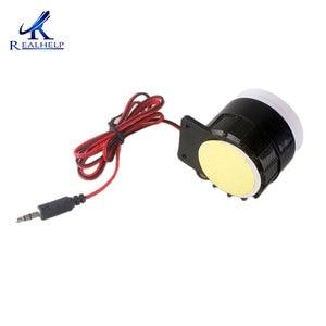 Image 4 - Red & Black Mini Wired 72 Mm Kabel 120dB Luid Sirene Hoorn Voor Home Security Sound Alarmsysteem DC12V 24V 5V Bescherming Voor Thuis