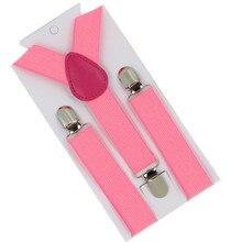 Fashion Hot Casual 11 Colors Mens Womens Unisex Elastic Y-Shape Adjustable Braces Clip-on Belts Suspenders For Vestidos