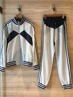 2019 новые модные женские туфли наборы для ухода за кожей спортивная блузка + брюки 0308