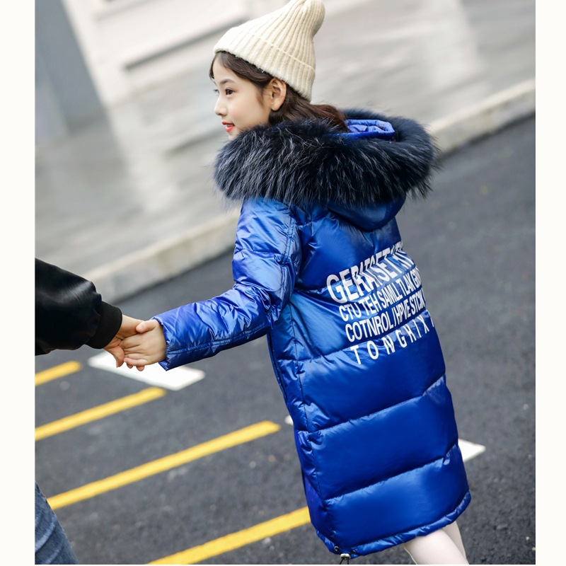 Children's down garments, girls, children's wear, winter wear, girls, children, 2018, new version of Korean version. цена