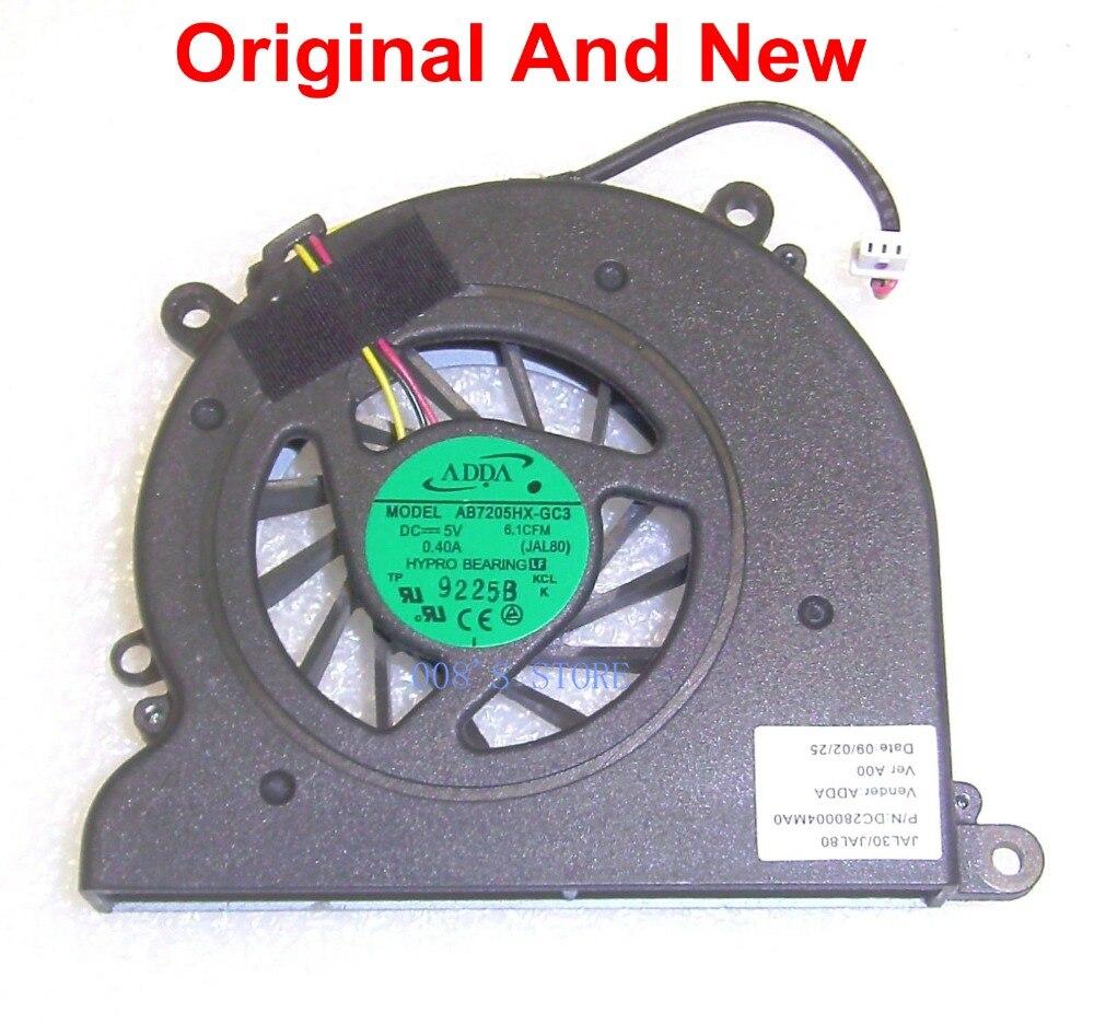 Original NEW Toshiba Satellite U300 U305 Laptop CPU Fan DC5V 0.3A UDQF2PH54DF0