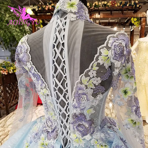 Image 5 - AIJINGYU Ivory Dress Gowns Shenzhen Vintage 3D Luxury Bridal Medieval Lace Unique Gown Inexpensive Wedding Dresses Near Me