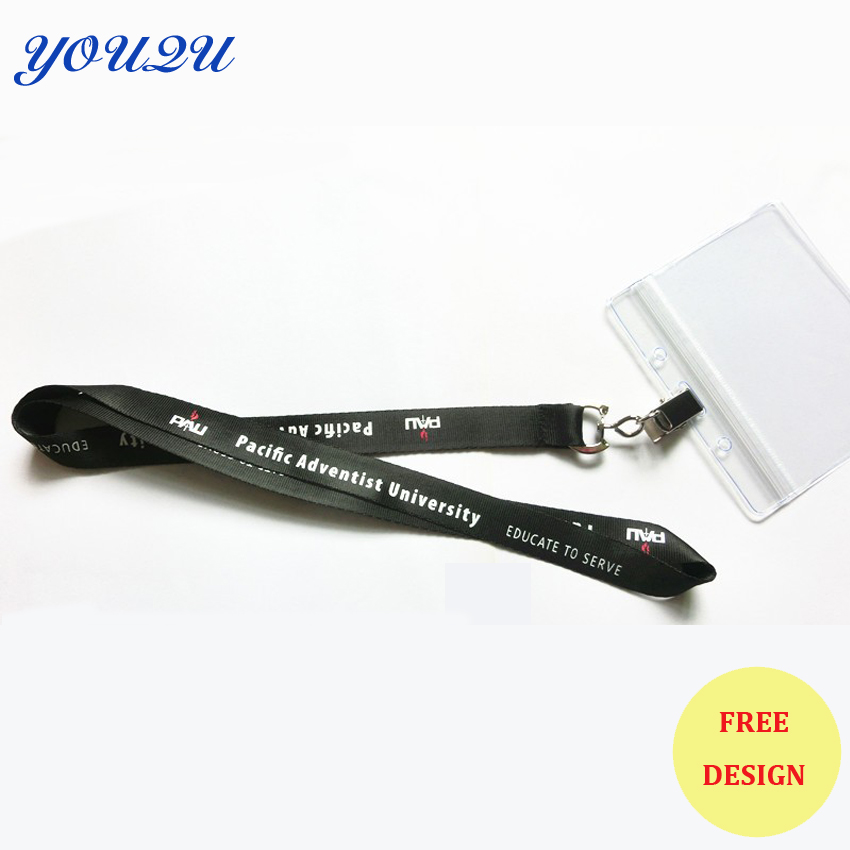 Купить с кэшбэком id badge holder lanyards id badge holder lanyard with plastic pocket accessories for cell phone escrow accept