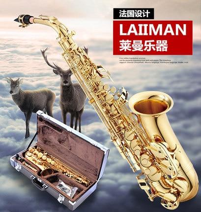 Authentic design E-flat alto saxophone / tenor saxophone / suitcase / free shipping