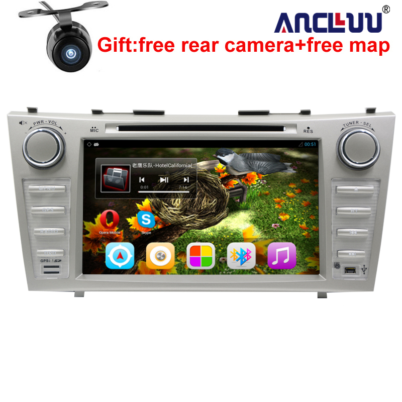 1024*600 2 Din Quad Core 8″ Android 6.0 Car DVD GPS Navigation For Toyota Camry 2007 2008 2009 2010 Head Unit Car Stereo radio