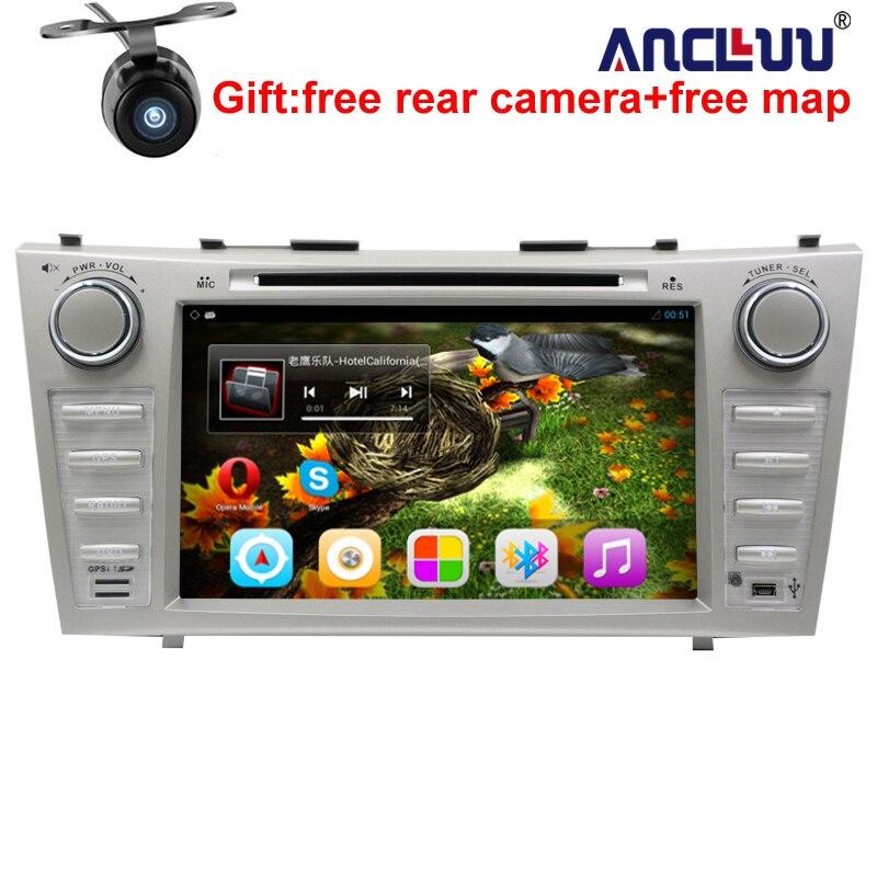 1024*600 2 Din Quad Core 8 Android 7.1 Voiture DVD GPS Navigation Pour Toyota Camry 2007 2008 2009 2010 Unité de Tête De Voiture Stéréo radio