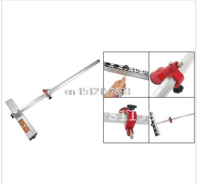 Coupe-outil de coupe de verre en alliage d'aluminium de longueur T 60 cm