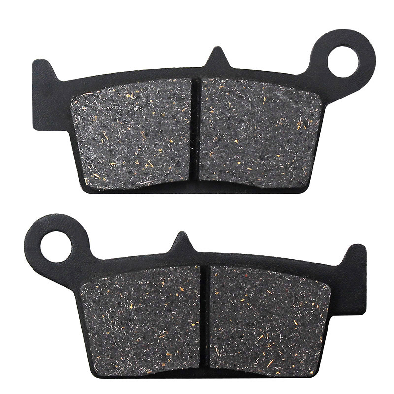 Motorcycle Brake <font><b>Parts</b></font> Rear Brake Pads For KAWASAKI <font><b>KX125</b></font> KLX250 KX250 KLX300 A2-A10 KLX400R KLX400 B1 B2 KX500 E8-A16 96-04 image