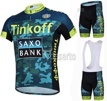 2016 Tinkoff Cycling font b Jerseys b font Ropa Ciclismo Breathable Racing Bicycle Cycling Clothing Quick