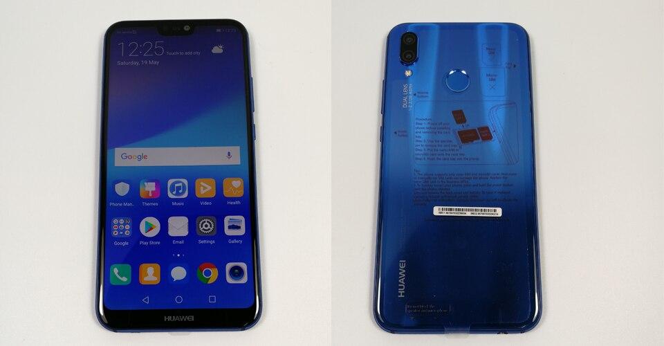 HTB1zkcNgiQnBKNjSZFmq6AApVXaF - Huawei P20 Lite Nova 3E Global Firmware 4G LTE Mobilephone Face ID 5.84