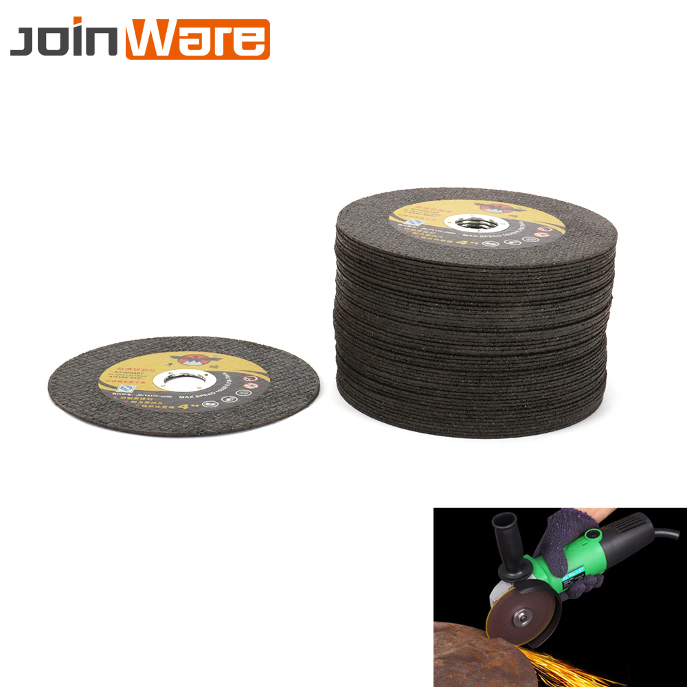 30Pcs 107mm Ultrathin Resin Cutting Wheel For Iron Metal Angle Grinder Stainless Steel Cutting Disc Grinding Wheel Blade Durable 100 resin grinding wheel piece metal cutting type angle grinder using