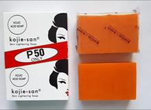12X65g Kojie San Skin Whitening SOAP Lightening Bleaching Bath และ Body Works สบู่กรดโคจิก