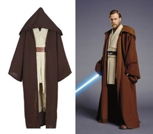 2017 New Star Wars Cosplay Costume The Force Awakens Jedi Obi Wan Adult Costumes for Halloween Carnival Costumes for Women/Men kids cosplay star wars the force awakens imperial stormtrooper role playing costumes uniforms performance performance clothing