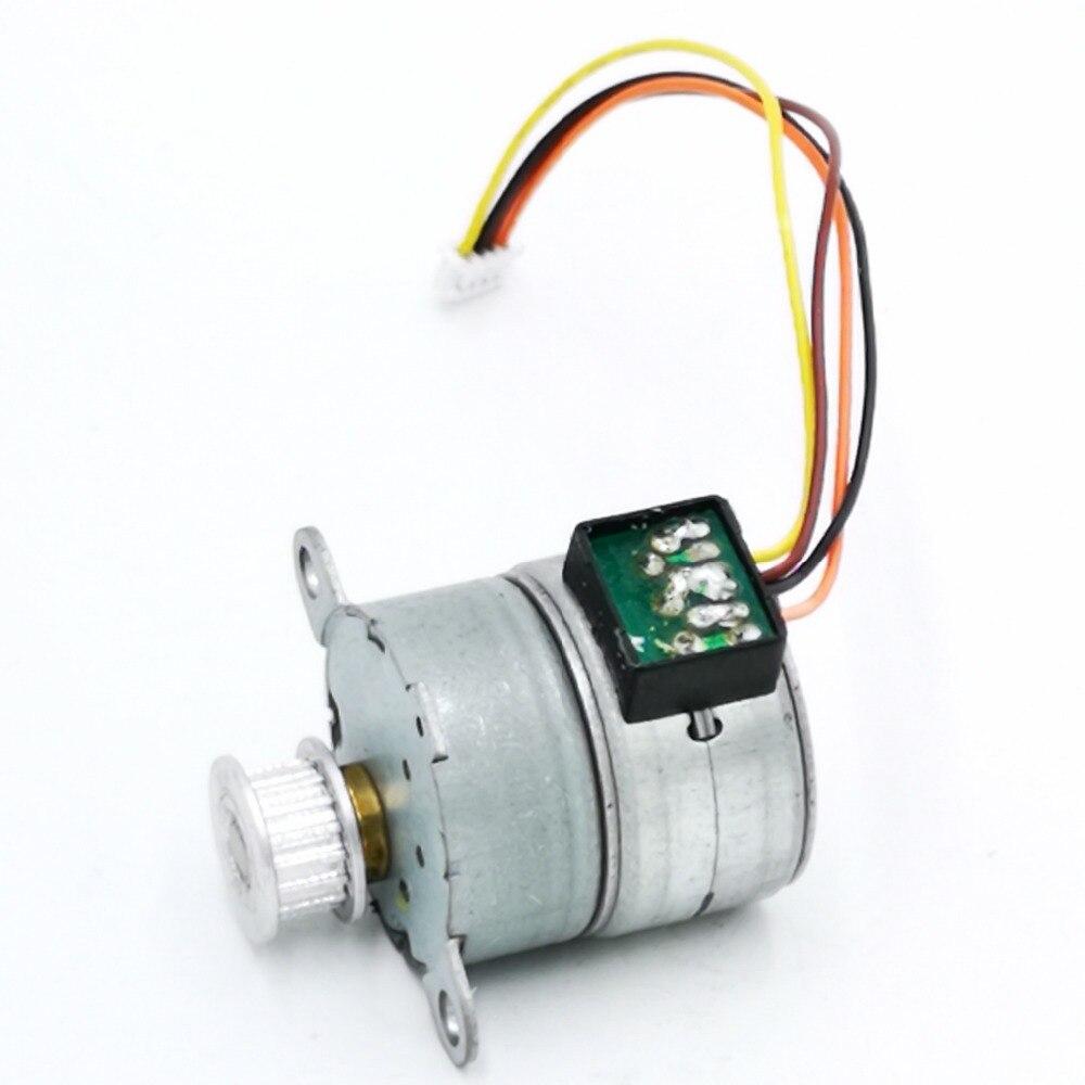2 шт./лот цельнометаллический редуктор двухфазный четырехпроводный 25 мм шаговый редукторный мотор коэффициент уменьшения 1: 62,5